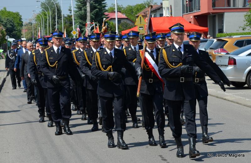 Strażacy świętowali w Leżajsku