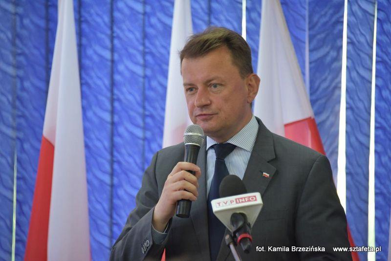 Minister Błaszczak gościł w Nisku