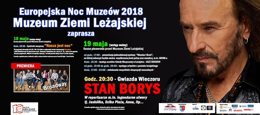 Stan Borys wystąpi w Leżajsku