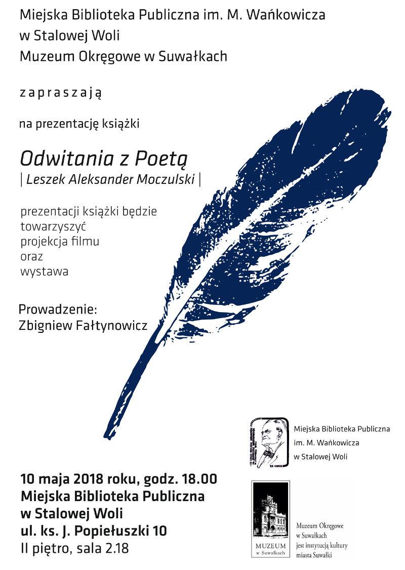 Prezentacja książki o Leszku A. Moczulskim
