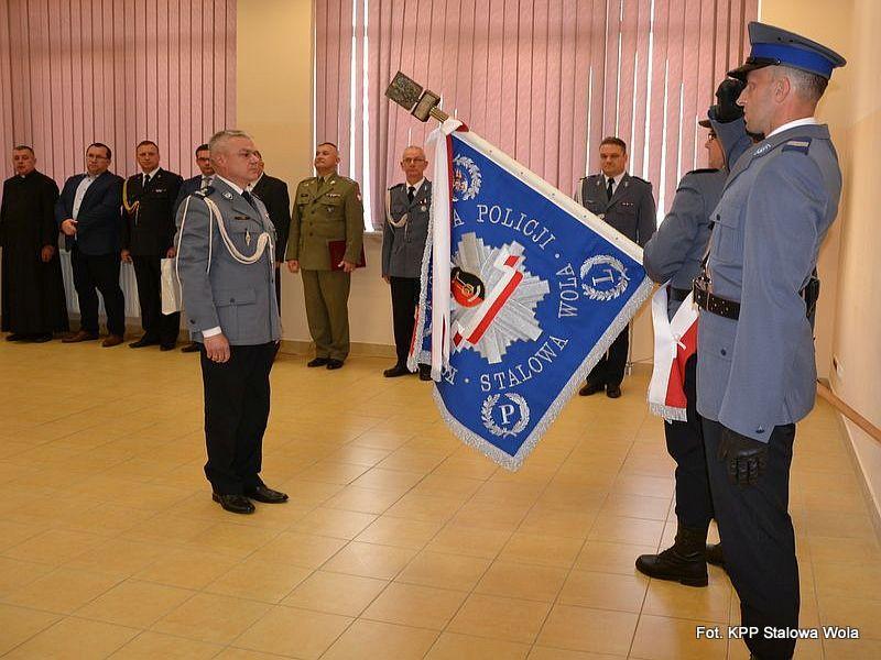 Mł. insp. Janusz Śnios został komendantem stalowowolskich policjantów