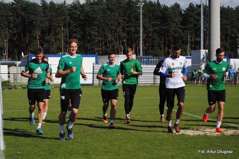 Trening poprowadził Jaromir Wieprzęć