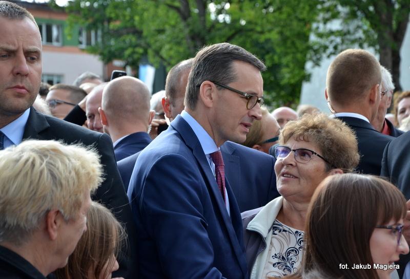 Premier odwiedził ziemię leżajską