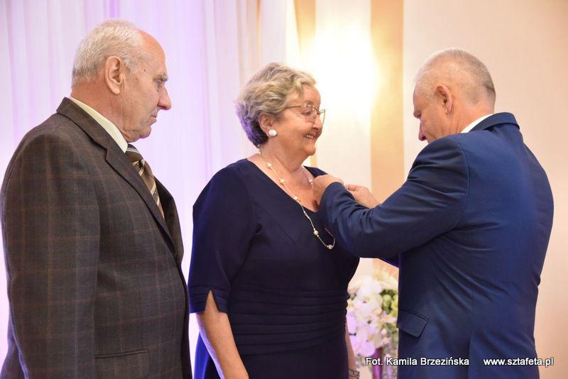 Małżonkowie odznaczeni za długoletni staż małżeński