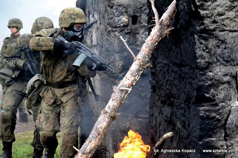 Terytorialsi ćwiczyli w Nowej Dębie