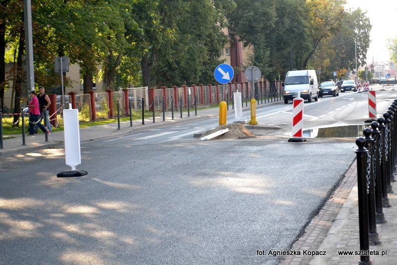 Ulica Sandomierska w Nisku przejezdna w jednym kierunku