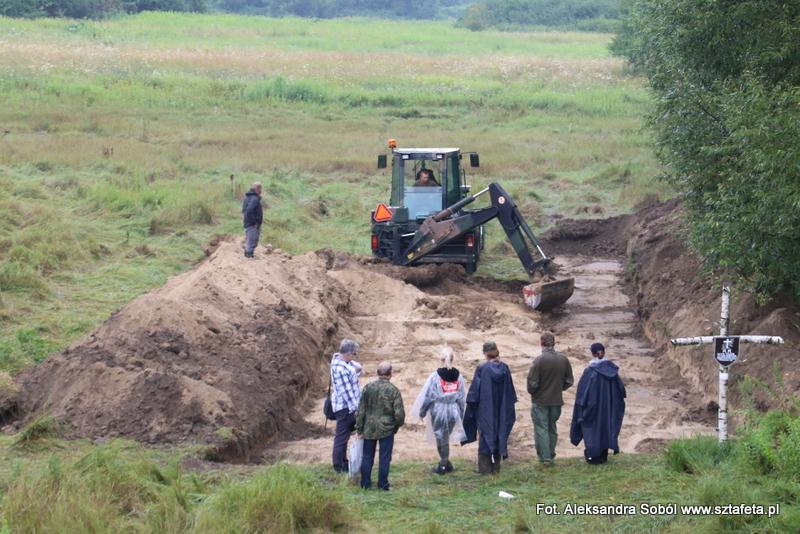 Szukali szczątków ofiar NKWD