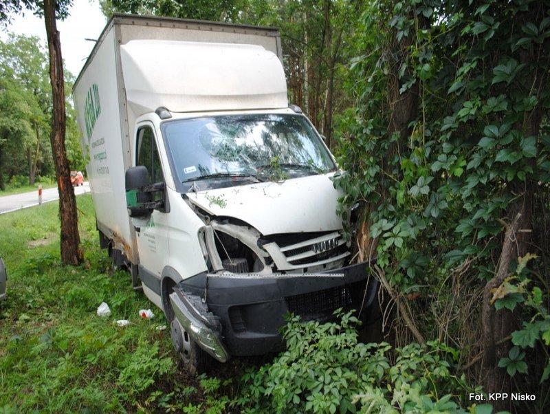 Dwa wypadki na terenie powiatu niżańskiego