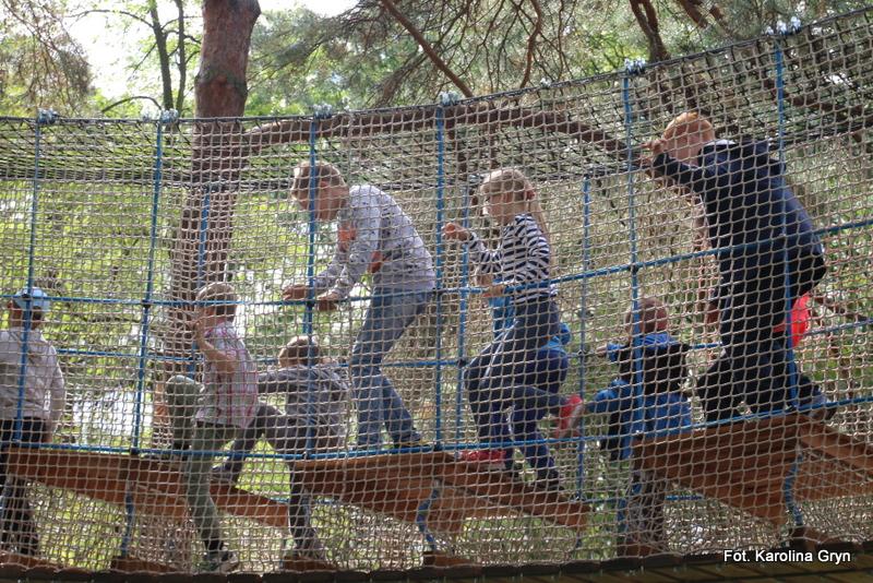 Pierwszy park linowy w Stalowej Woli już otwarty