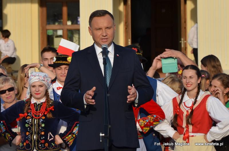 Prezydent odwiedził Leżajsk