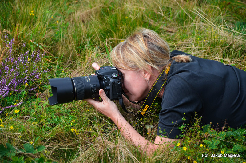 Fotografowanie przyrody sposobem na życie