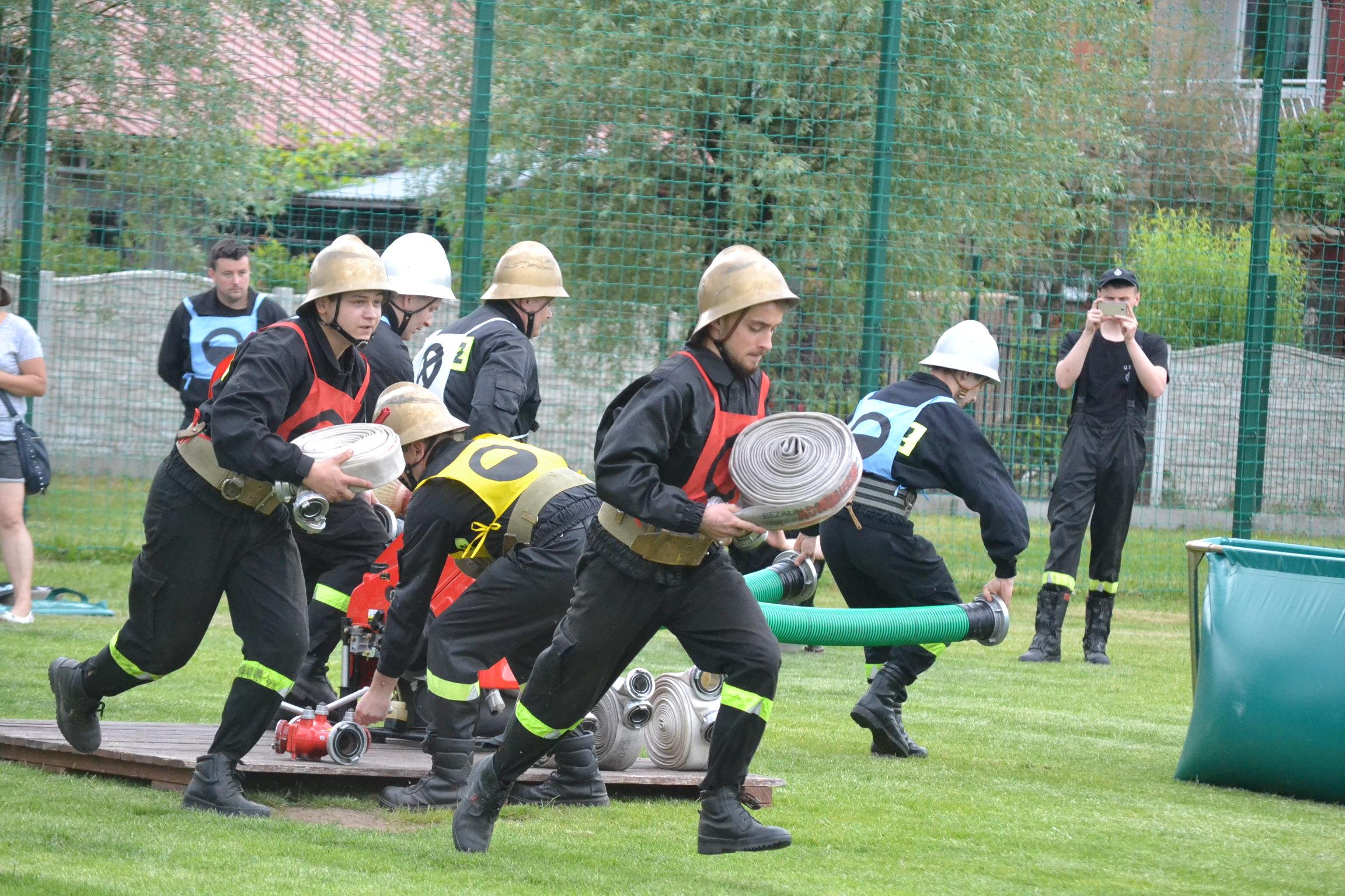 W Krzeszowie zmierzą się strażacy