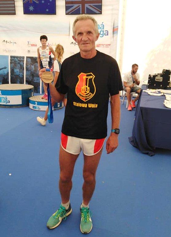 Stanisław Łańcucki mistrzem świata w biegu na 2 km z przeszkodami