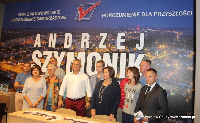 Wojownik Szymonik i jego drużyna