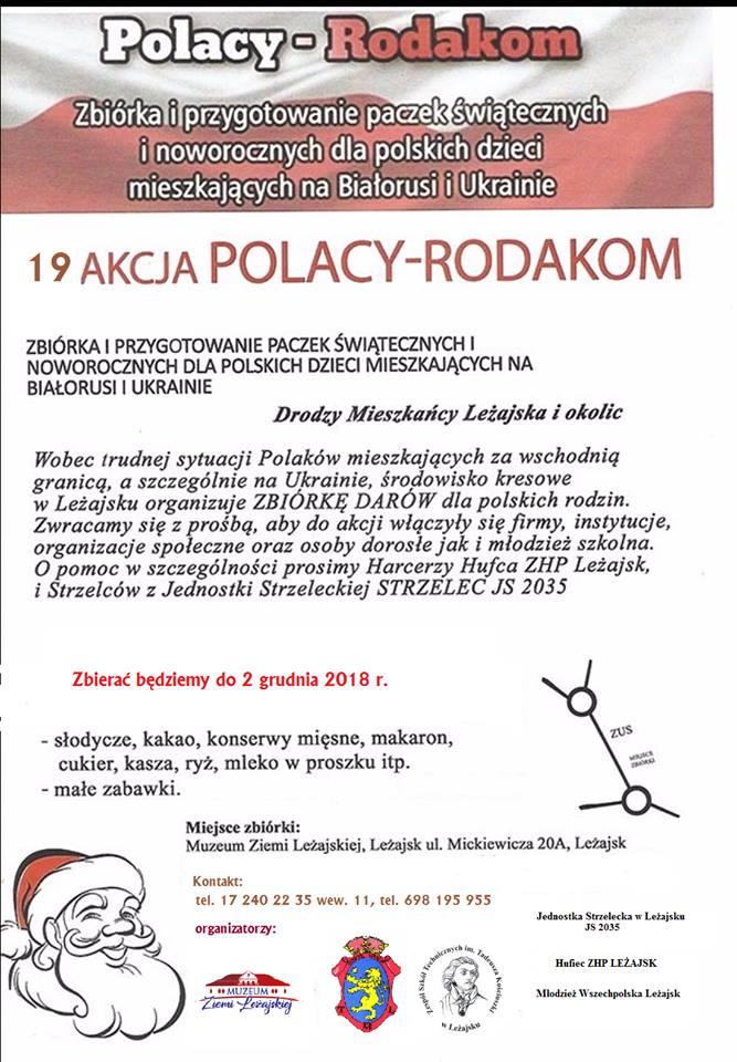 """Ruszyła 19. Akcja """"Polacy – Rodakom"""""""