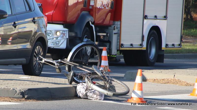 Wypadek na ulicy Energetyków