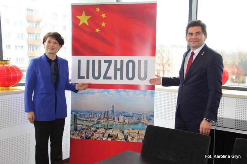 Delegacja z chińskiego miasta Liuzhou z wizytą w Stalowej Woli