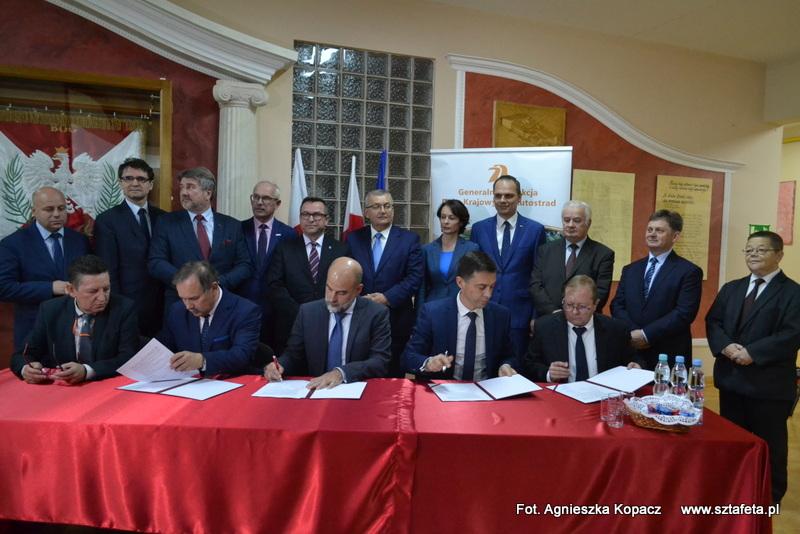 Podpisano umowę na S19 z Jeżowego – Podgórza do Nowosielca