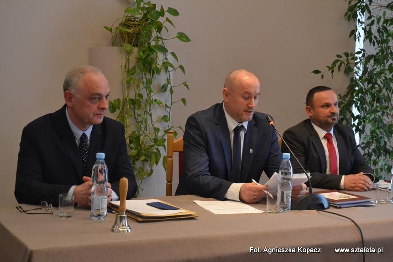 Wybrali przewodniczącego i wiceprzewodniczących Rady Miejskiej w Nisku