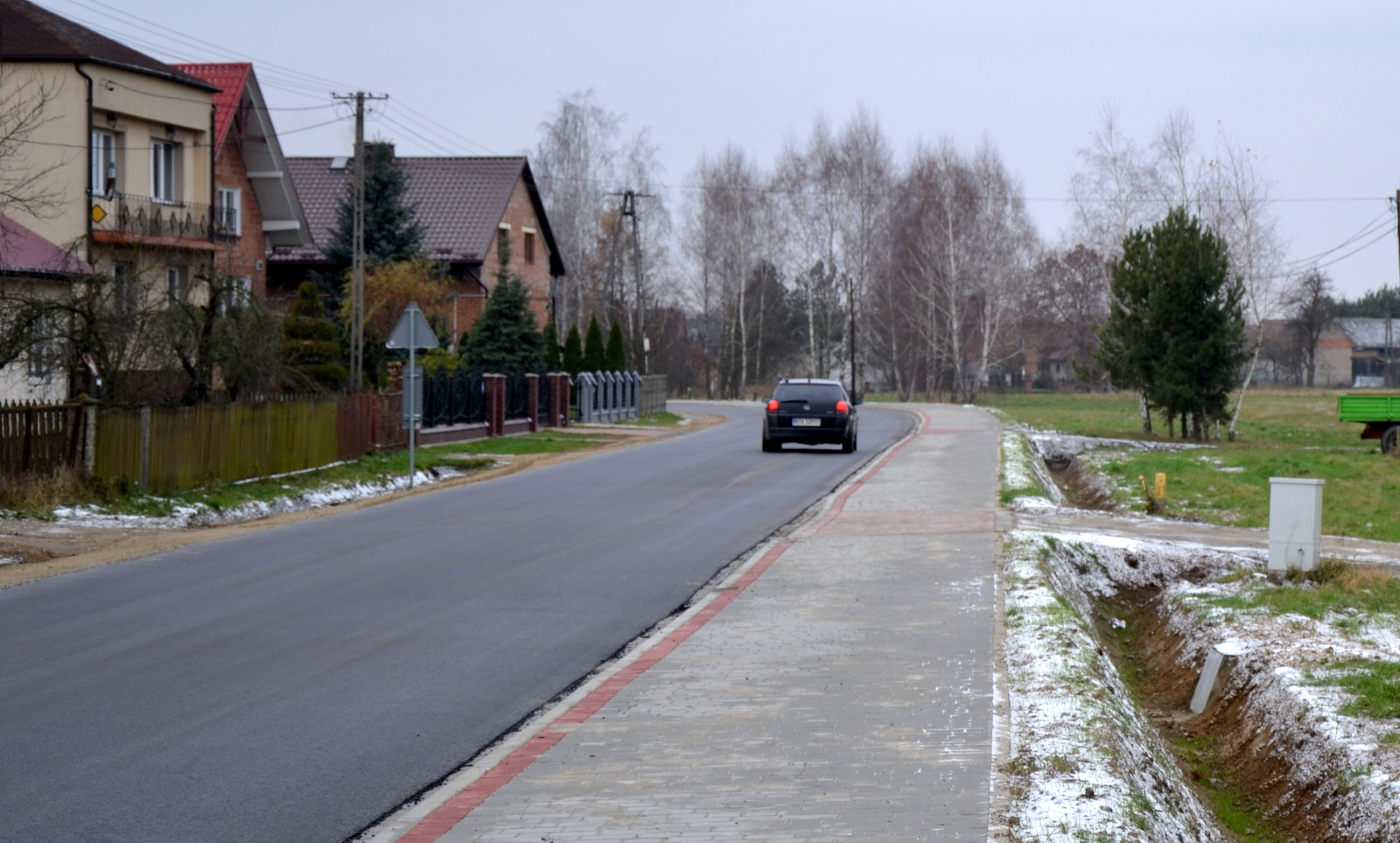 Powiat przebudował dwie drogi