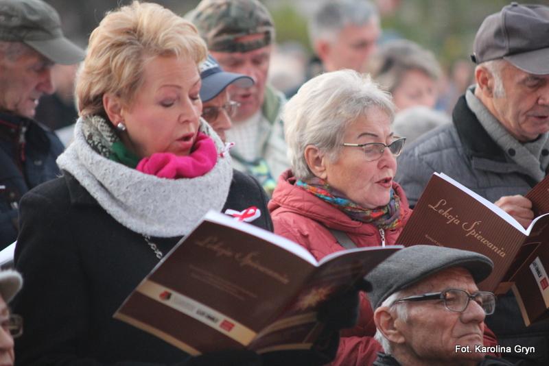 Rozwadów: Wspólnie śpiewali pieśni patriotyczne