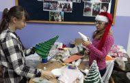 W Stalach-Siedlisko przygotowywali ozdoby świąteczne