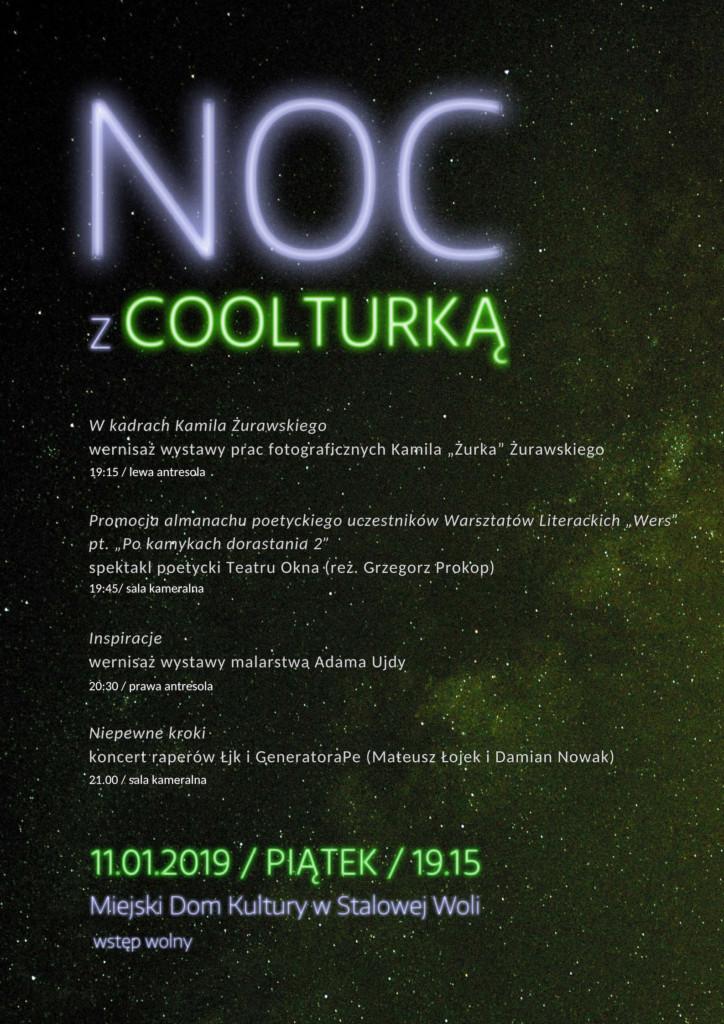 """""""Noc z Coolturką"""", czyli święto debiutantów"""