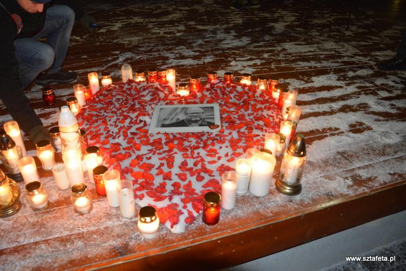 Uczcili pamięć prezydenta Pawła Adamowicza