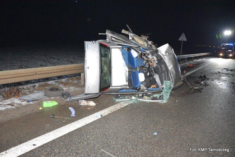 Tragiczny wypadek w Trześni. Zginął policjant
