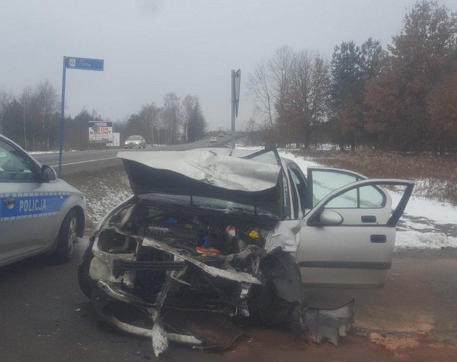 Nisko: Zderzenie trzech aut na skrzyżowaniu