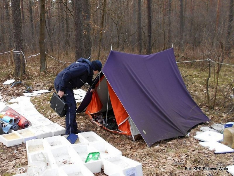 Stalowowolscy policjanci brali udział w ogólnopolskim badaniu liczby osób bezdomnych