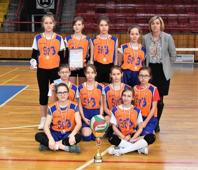 Siatkarki z PSP 3 mistrzyniami Stalowej Woli