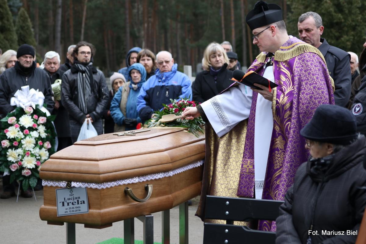 Pogrzeb Lucjana Treli