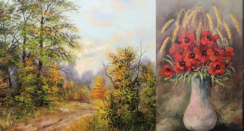 W Rudniku pokażą obrazy niżańskiego artysty