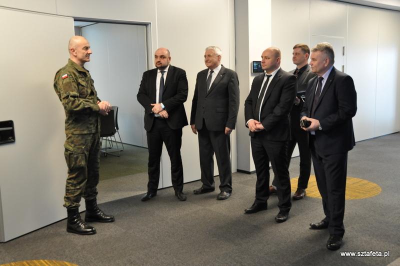 Wizyta Szefa Sztabu Generalnego Wojska Polskiego w Hucie Stalowa Wola SA