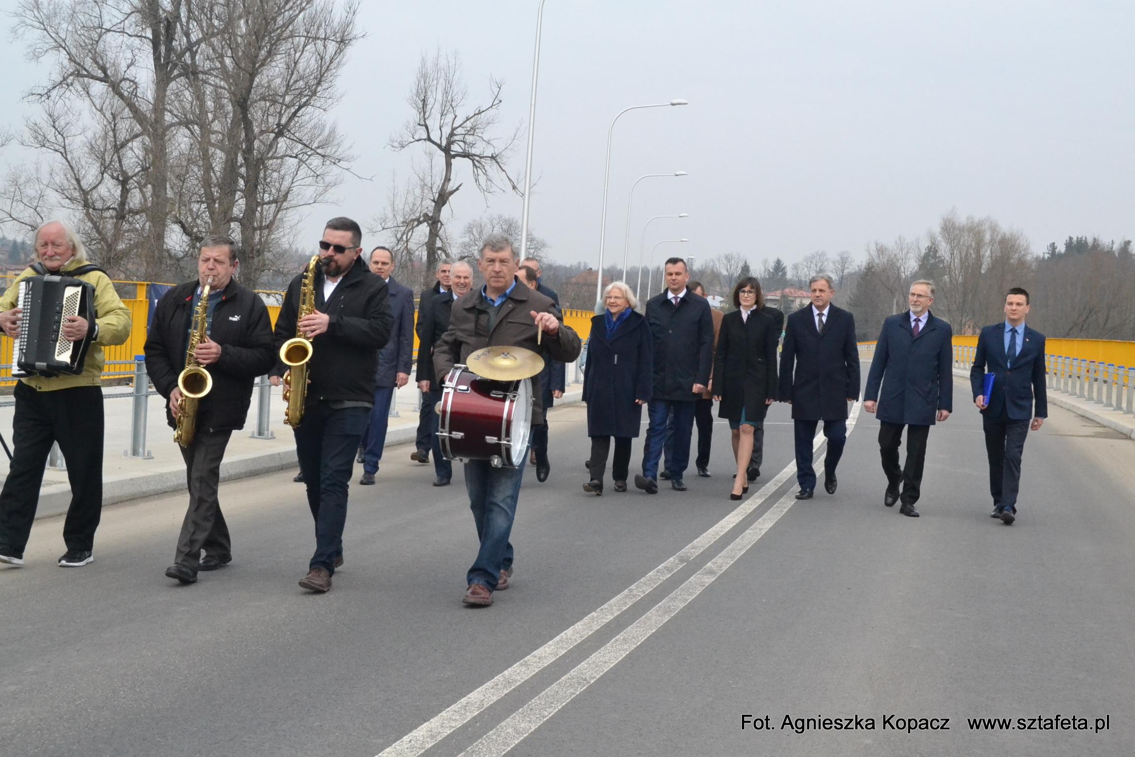 Most na Tanwi w Ulanowie oficjalnie otwarty