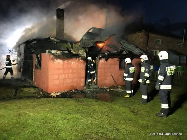 Jastkowice: Mężczyzna zginął w pożarze domu