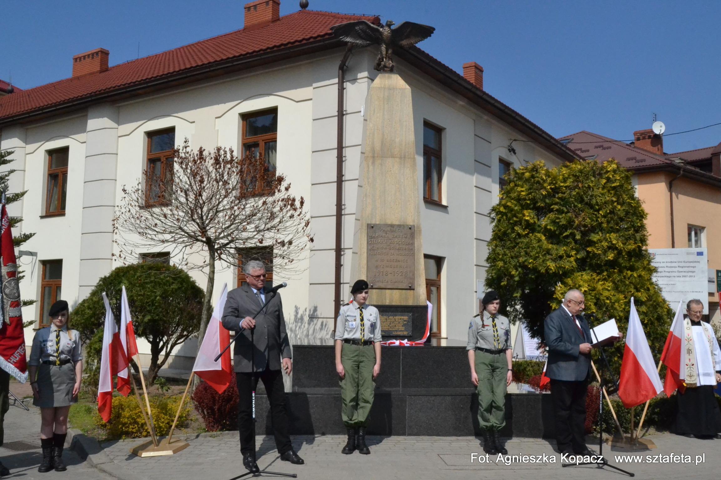 W Nisku odsłonięto tablicę obrońcy Lwowa