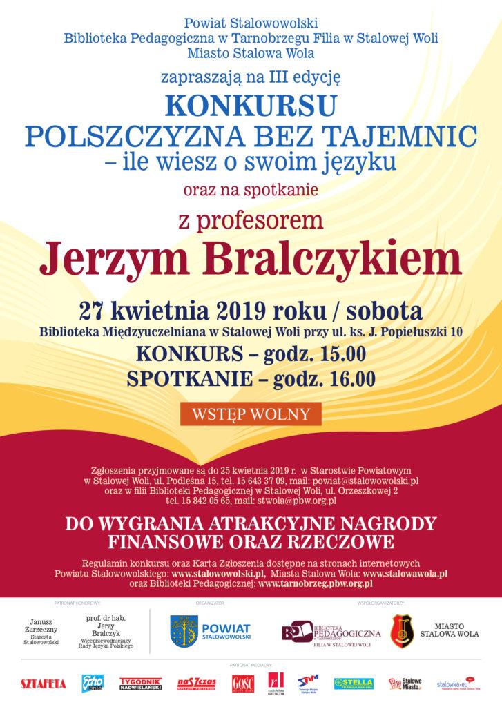Polszczyzna bez tajemnic... - z prof. Jerzym Bralczykiem