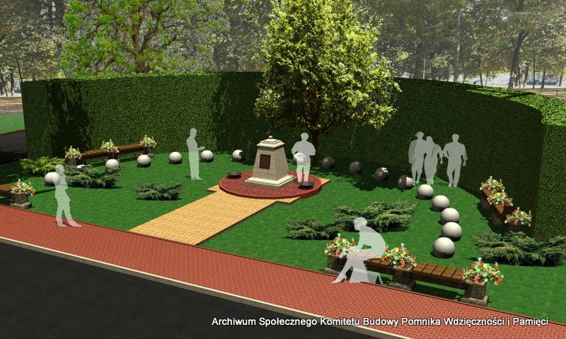 Będą sprzedawać cegiełki, aby sfinansować budowę pomnika