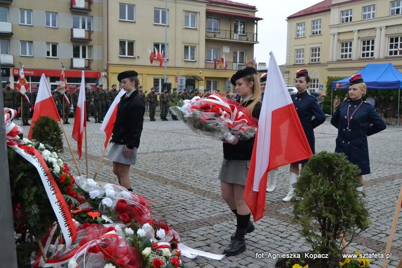 Mieszkańcy Niska hucznie obchodzili święto Konstytucji 3 maja