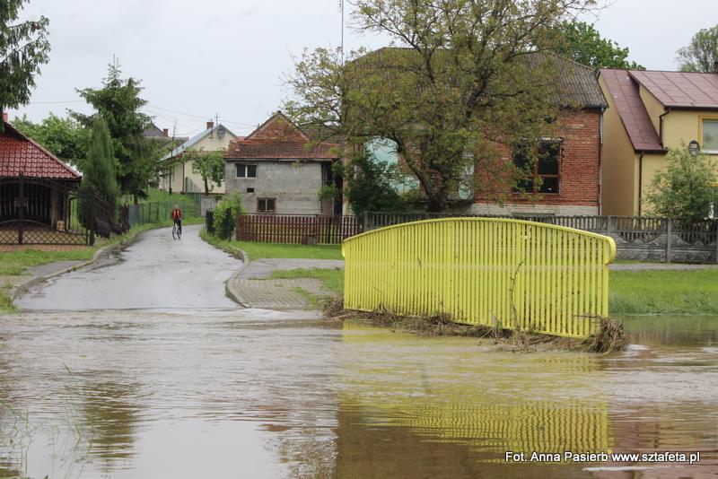 Powódź w Cholewianej Górze