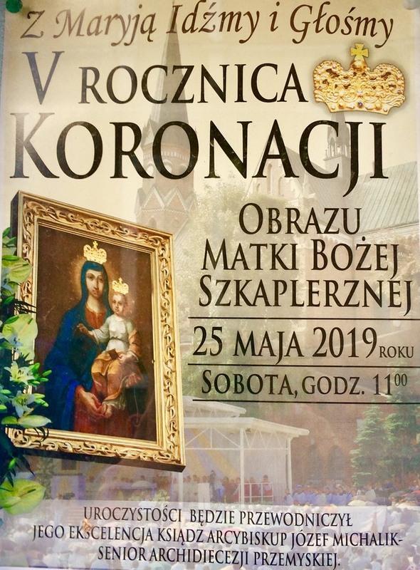 5. rocznica koronacji rozwadowskiego obrazu