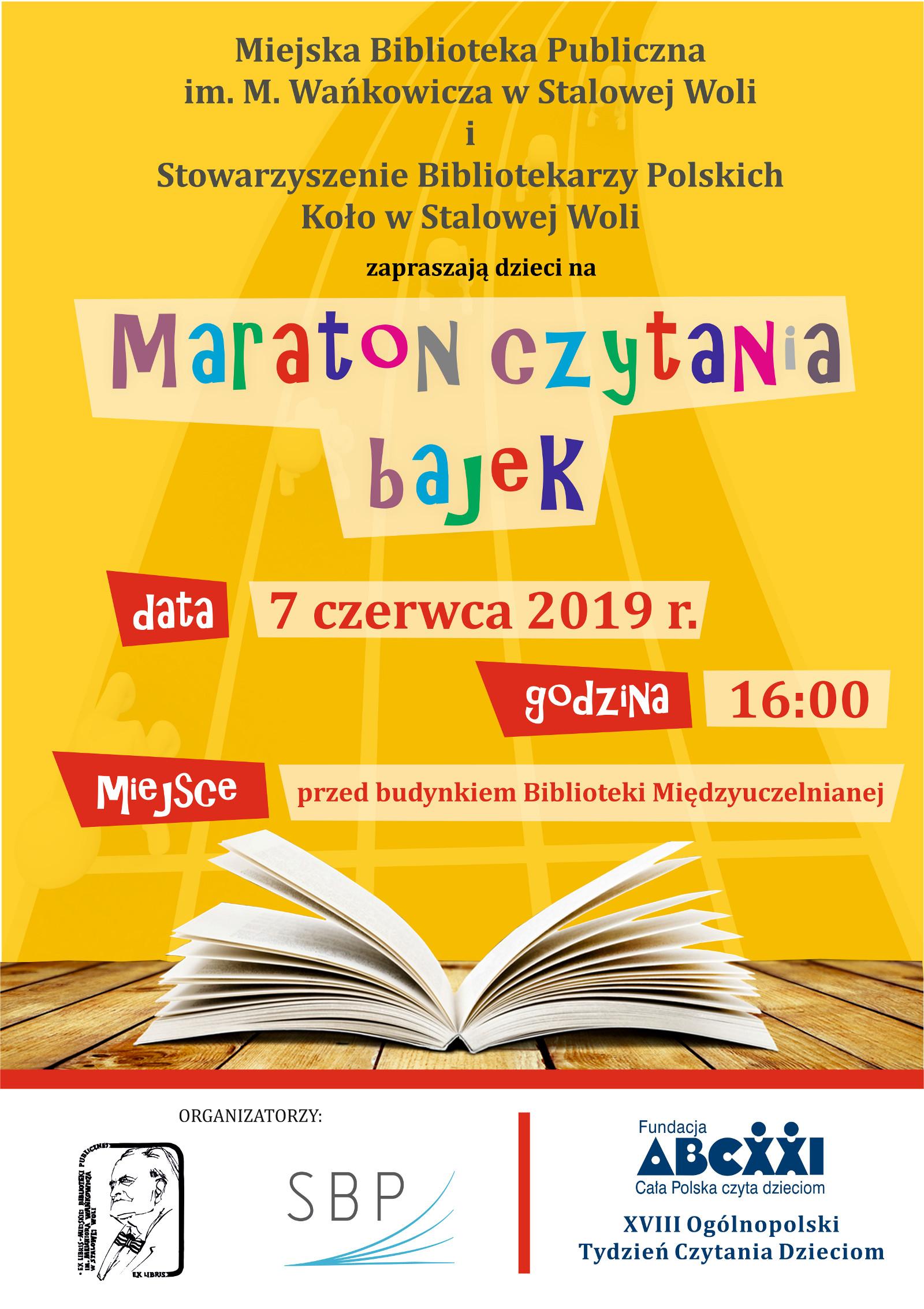 Stalowa Wola: Maraton czytania bajek
