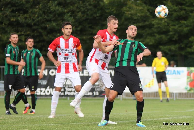 II liga. Stal Stalowa Wola - Resovia 1:3 (0:2)