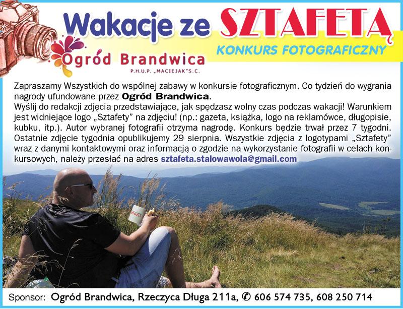 Konkurs fotograficzny - Wakacje ze Sztafetą