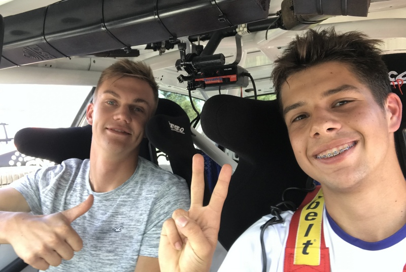 ATS Junior Rally Team melduje wykonanie zadania!
