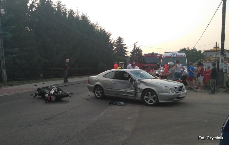 Dwóch nastolatków rannych w wypadku