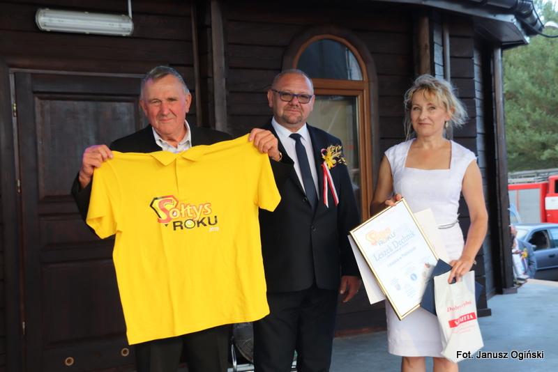 Leszek Dechnik został Sołtysem Roku Powiatu Niżańskiego