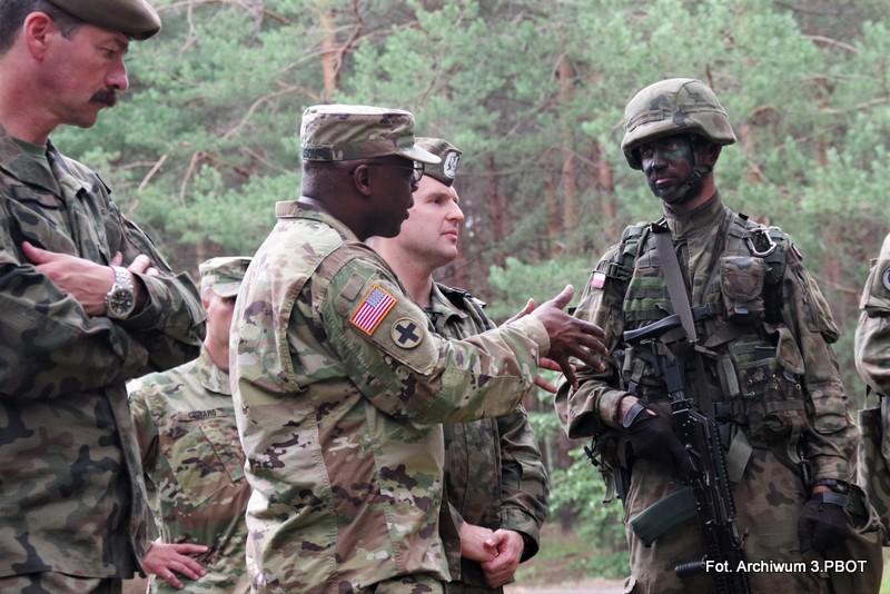 Amerykańscy gwardziści będą się szkolić w Nisku